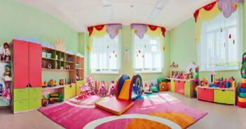 So könnte das erste Kinderzimmer aussehen oder eben auch nicht so bunt