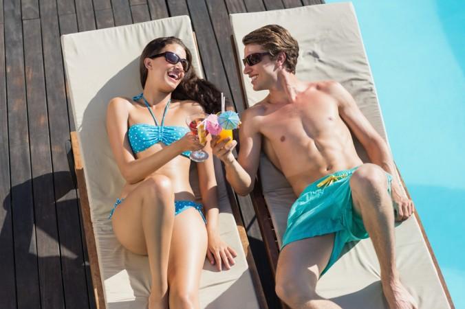 Und während die Kinder im Wasser planschen, können auch die Eltern ihren Urlaub genießen. Sonne tanken, Cocktail schlürfen, was gibt es Schöneres! (#5)