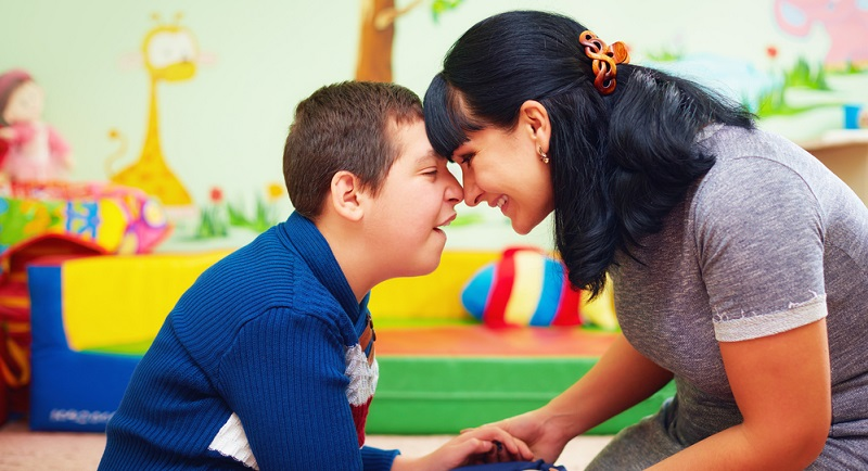 Ein integrativer Kindergarten weist oftmals einen guten bis sehr guten Betreuungsschlüssel auf.