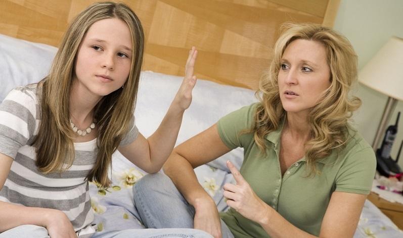 Der Mutter-Tochter-Konflikt wird im Alltag immer wieder auftreten.