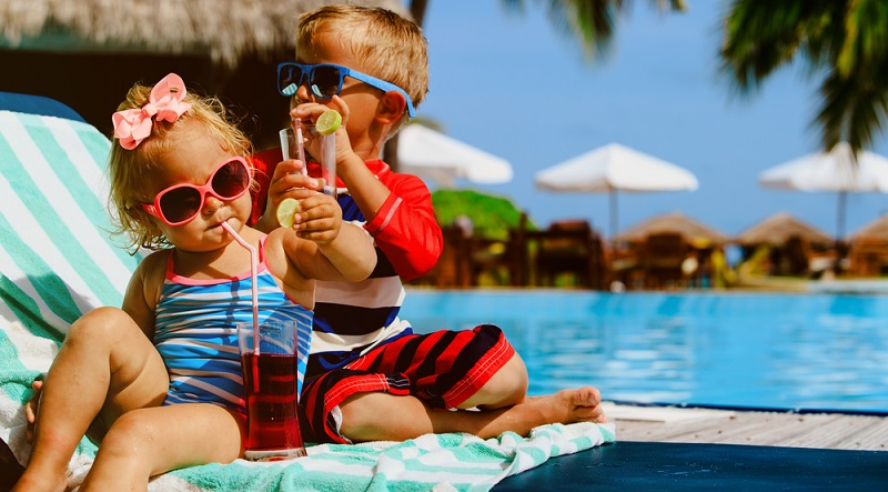 Es gibt viele Reiseziele, die auch mit Kindern kein Problem darstellen, aber trotzdem sind nicht alle geeignet.(#02)