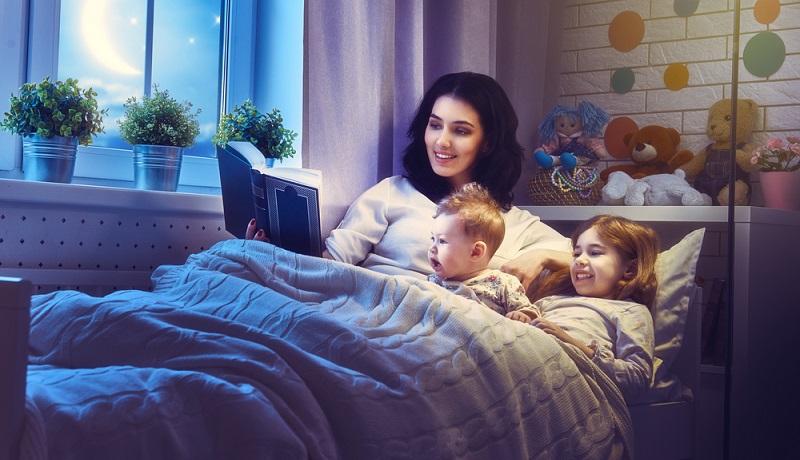 """Beachten sollte man auch die sog. """"Cool-down-Zeit"""". Der Name ist hier Programm und durchaus wortwörtlich zu verstehen. Es geht für die Kinder darum, vor dem Schlafen gehen herunterzukommen. (#03)"""