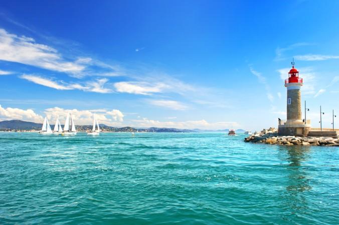 Wunderschönes St. Tropez: Der Blick auf den Leuchtturm lädt zum Träumen ein! (#2)