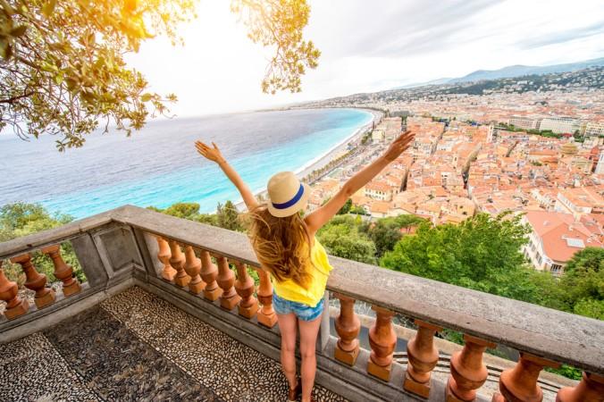 Sich ganz frei fühlen kann man über den Dächern von Nizza. (#4)