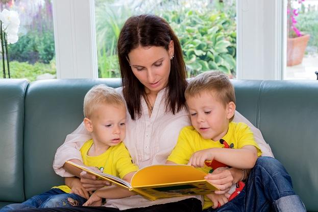 Wenn sich die Kids für die Geschichte bzw. das Buch interessieren, haben Sie bereits die halbe Miete!