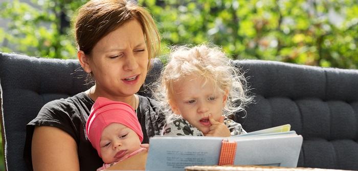 (Vor)lesen für kleine Kinder