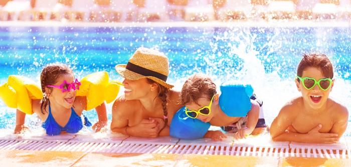 Wasser marsch Acht Campingplätze an der Cote d Azur mit riesigen Swimmingpools