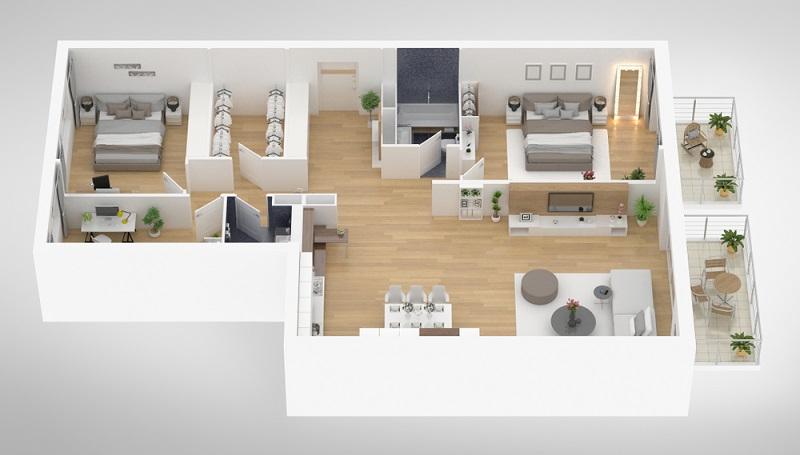 Wenn Sie in ein Haus oder in eine Wohnung einziehen wollen, dann können Sie die Immobilie entweder neu bauen, bereits fertig kaufen oder mieten.