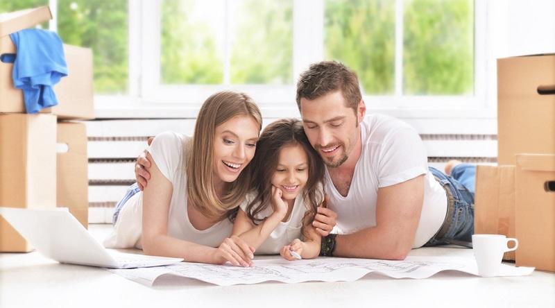 Der erste Schritt besteht darin, sich zu überlegen, wie viele Zimmer die Familie benötigt.